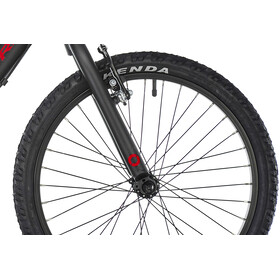 ORBEA Grow 2 7V Enfant, black/red